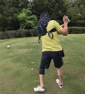 ゴルフ 熱中症対策